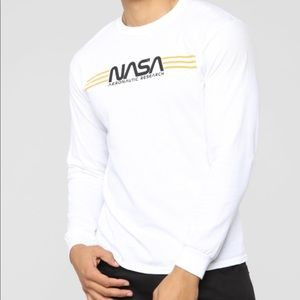 NASA Long Sleeve T Shirt (m)